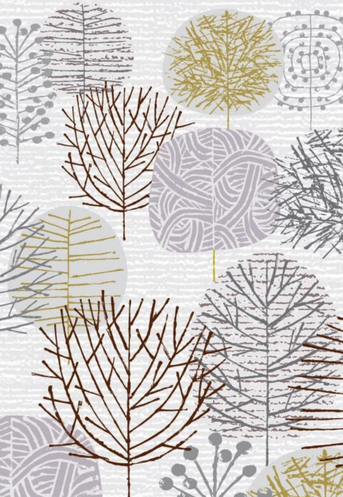 'I Love Winter Trees!' A4 Giclee Print By Artist Eloise Renouf Edition 42/100